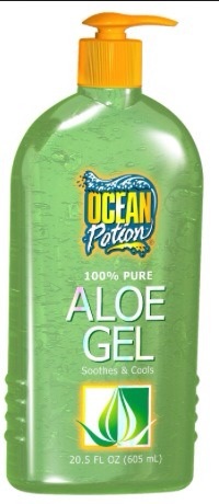 1/4 of aloe Vera gel