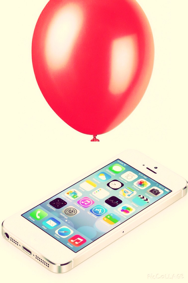 To make this phone case you will need a phone and a ballon.