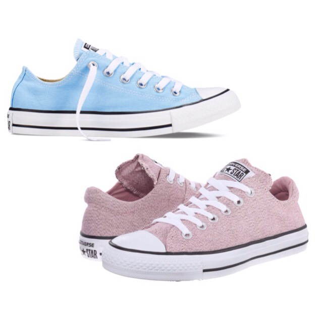 "There's even Converse for these pigments as well for the ladies who are bit more ""edgy""."