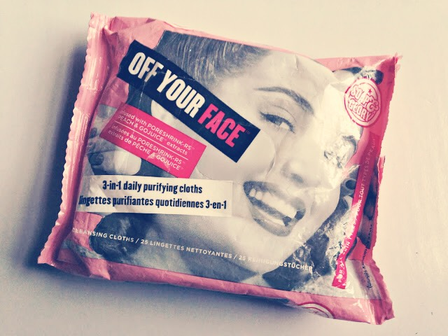 Face wipes...