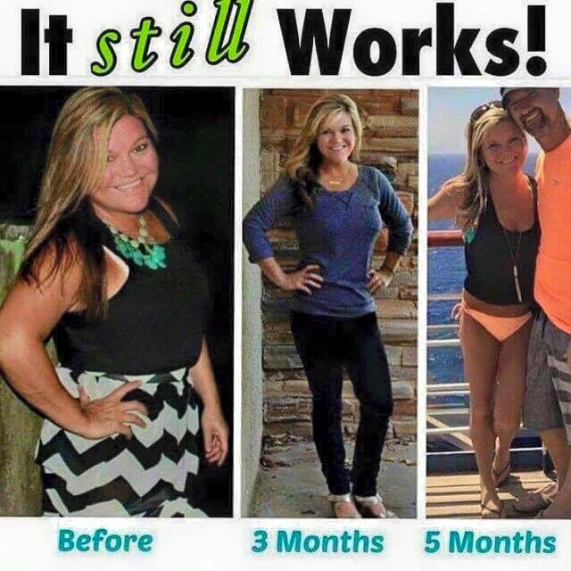 Awesome results over a spand of 3-5months! Wraps, fat fighters, greens!
