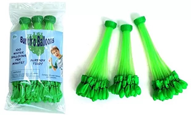 $23.95 Bunch O Balloons Water Balloons (Fill 100 balloons at once)