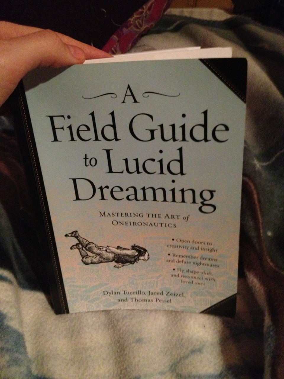This book by Dylan Tuccillo, Jared Zeizel, and Thomas Peisel has wonderful tips to help you with becoming lucid while dreaming