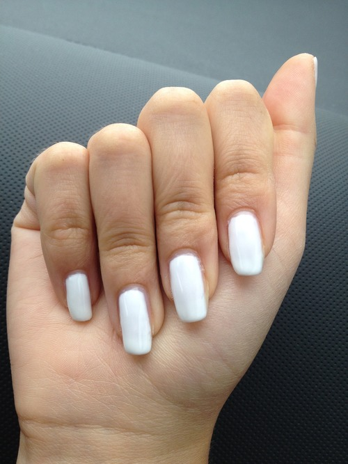 Then your nails will last just as long as gel nails would and no uv light required 😵😵😎