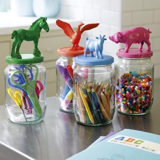 Kids craft storage ✏️🎨
