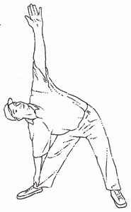 Example of Side Stretch.