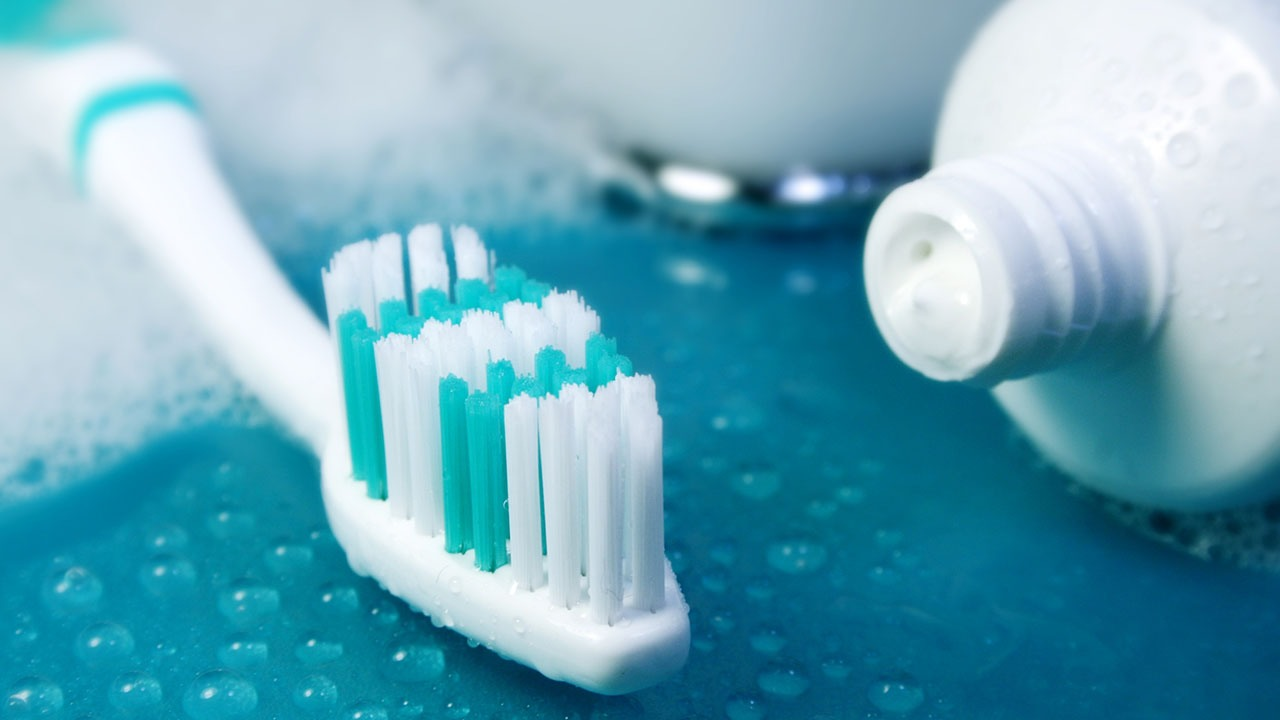 Rinse your mouth and brush your new pearly whites.
