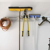 Hang brooms and brushes when not in use – they will last longer.
