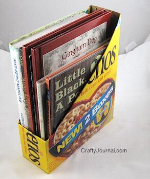 You can also make book boxes!