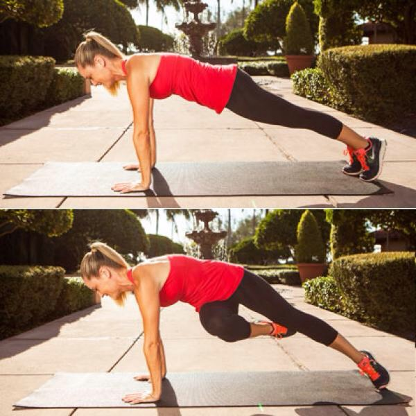 mountain climbers - 30 each side 💕 count doubles