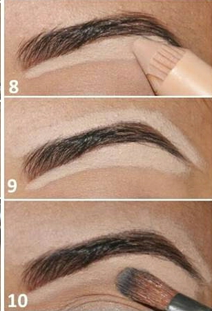 This step is optional, but if you really want your brows to pop, using concealer around the brow will give it a sharp, clean look.