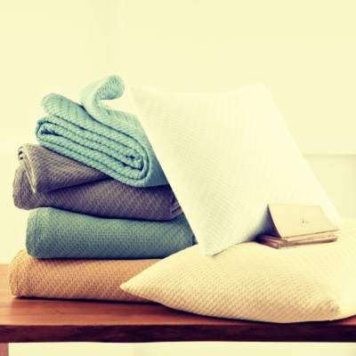 Blankets and pillows to stay comfy!