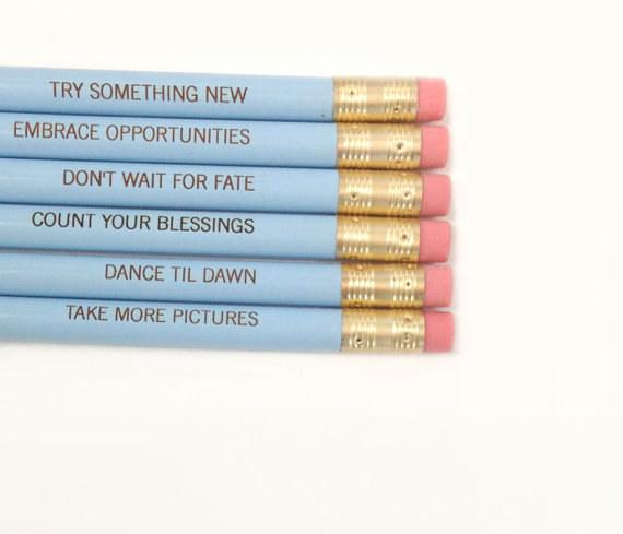 5. These enriching pencils: