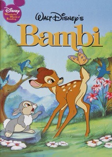 The Nazi banned and burned copies of the book Bambi because it was made by a Jewish author