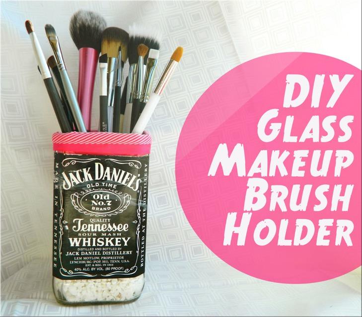 Makeup Brush Holder Cup Diy Diy Campbellandkellarteam