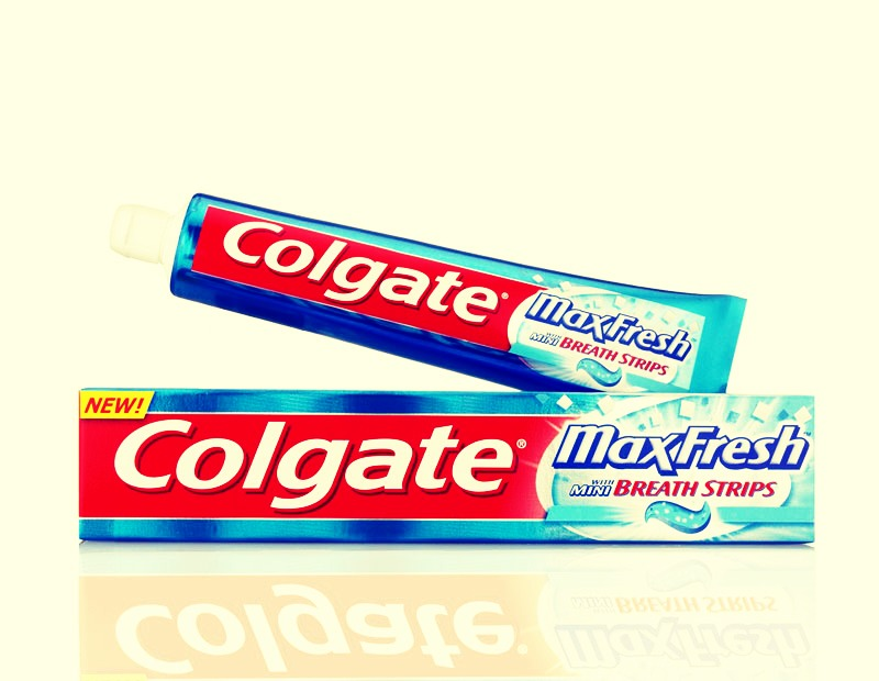 Apply tooth paste on the spot before you go to bed.