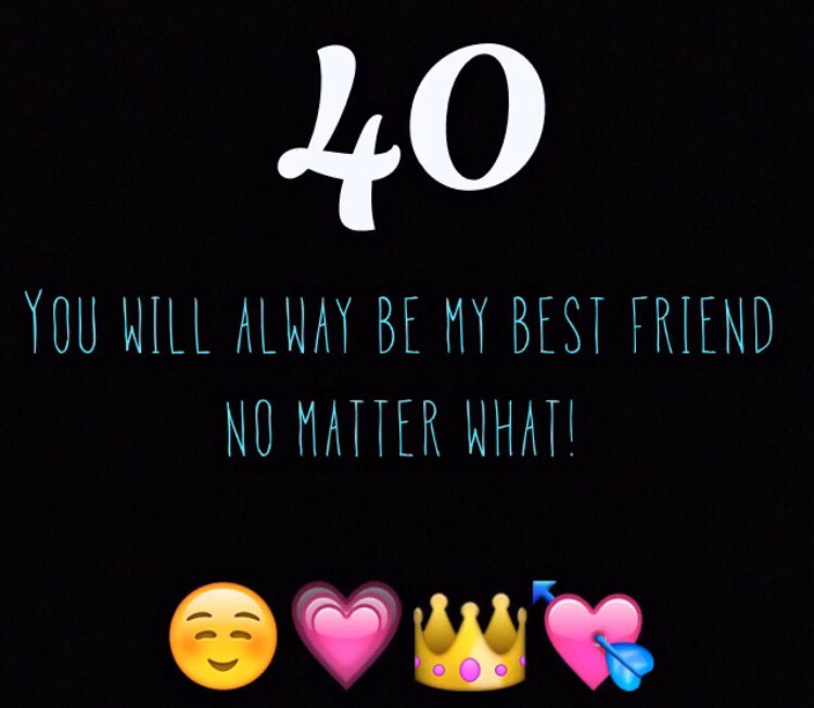 40 Reasons Why Youre My Best Friend By Caitlin Oxley Musely