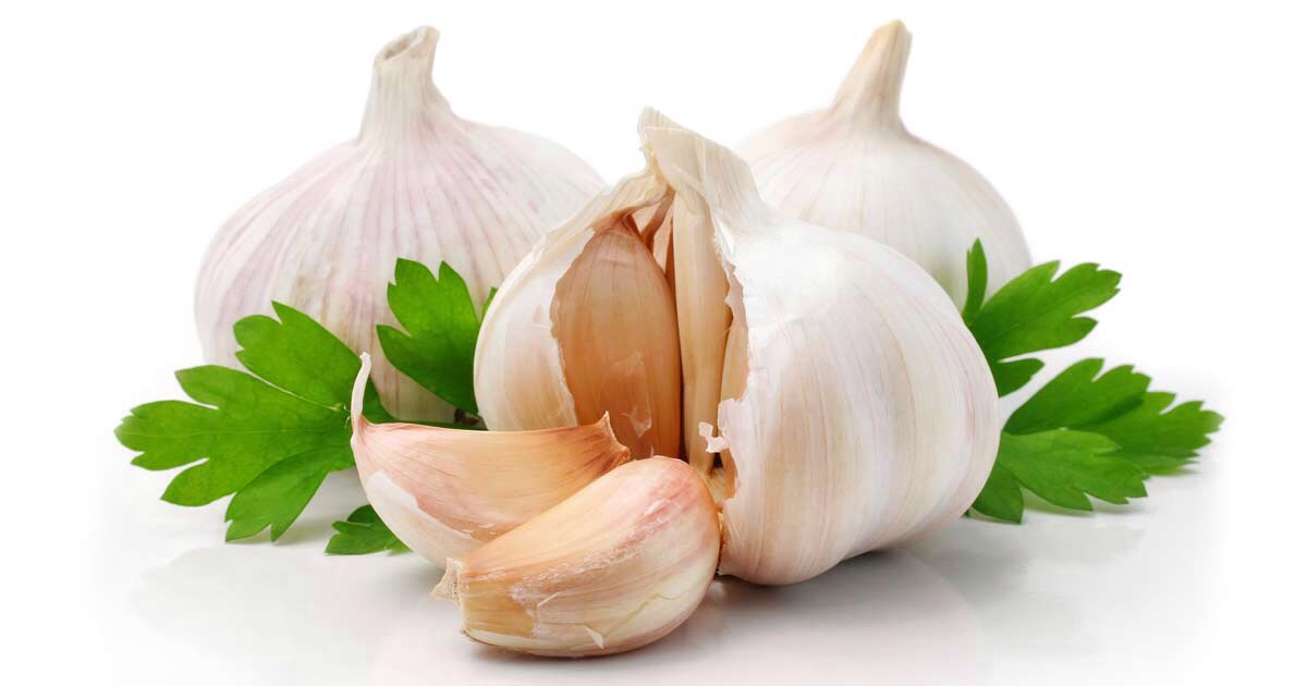Get some garlic and crush it into little bits. You could also blend it for 10 seconds but it's just easier to crush it.