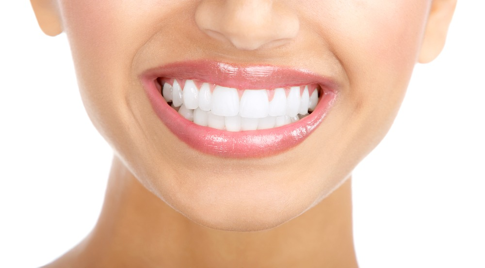 For whiter teeth....