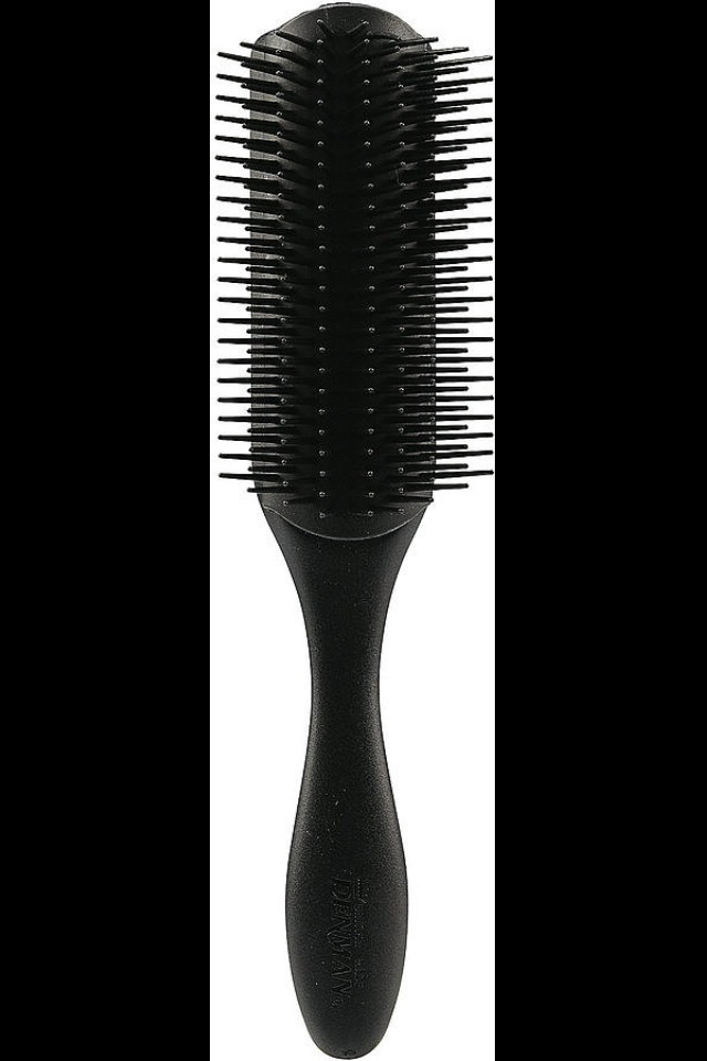 For Natural Hair . . . Yes, curly girls can actually brush their hair! Our editor Jessica Cruel swears by the Denman D4 Classic Styling Brush ($13). The bristles are moveable, so they won't snag your spirals, and it's good for detangling wet locks (just add leave-in conditioner).