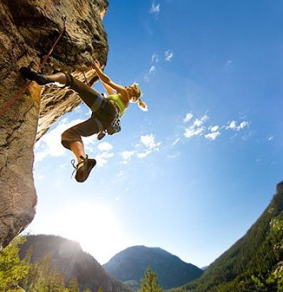 Go rock climbing if you're not too scared