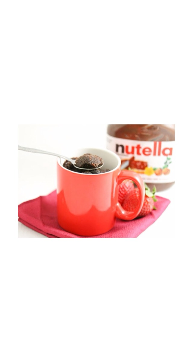 How To Make A Nutella Cake In A Mug