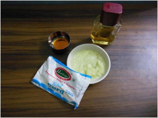 5. Cabbage and Honey Mask