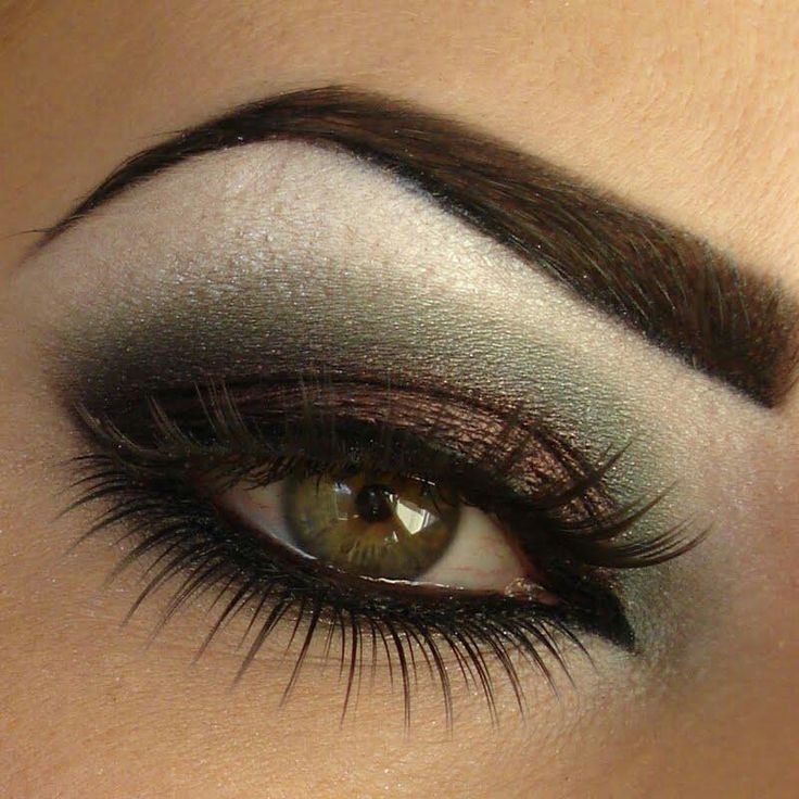 Макияж для зеленых глаз Фото, видео