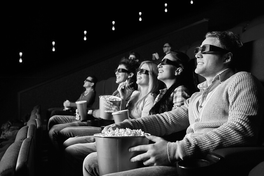 Have a movie fest with friends and family!! If your home alone, make your own movie fest with popcorn and drinks and relax!!