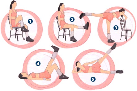 make each exercise at least 10 times