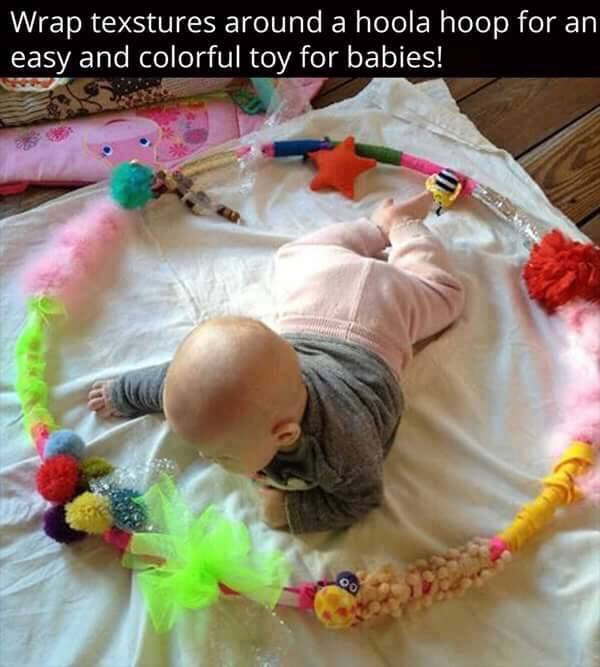 Diy Sensory Toys For Babies By Mahwash Ahmed Musely