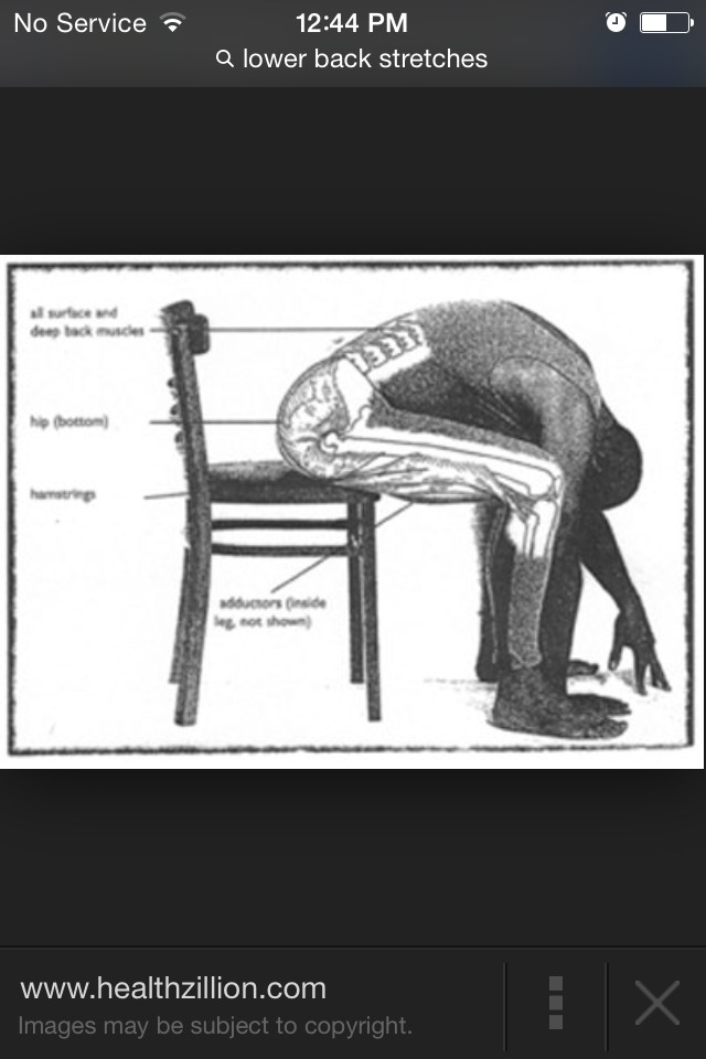 Lower back pain is usually due to tightness!!!