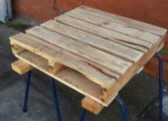 Start with a pallet