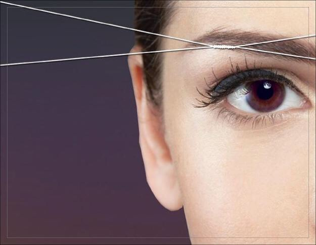 Try to choose threading over waxing when you get your eyebrows done. Overtime wax damages your skin. It can get wrinkled quicker.