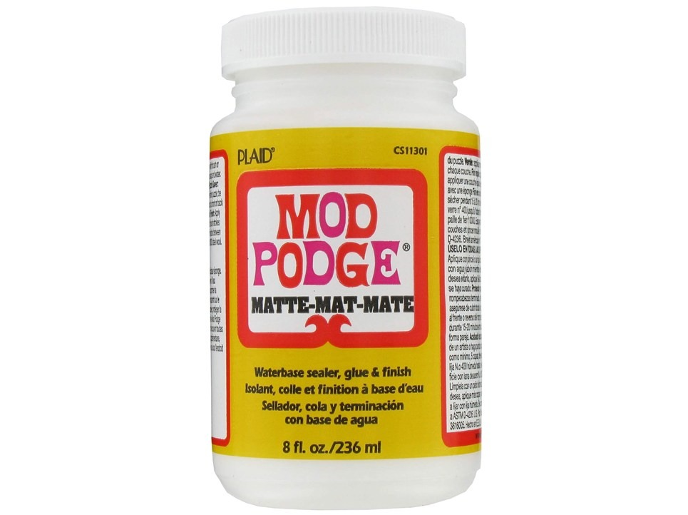 You will need Mod Podge