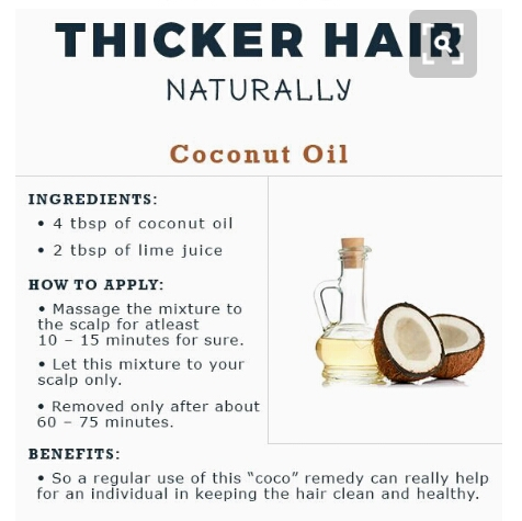 How To Get Thicker Hair Faster Naturally