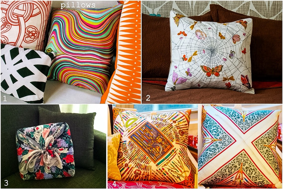 Pillows with character.
