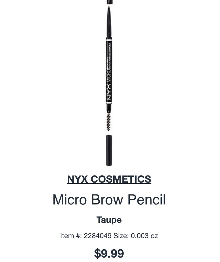 Amazing eyebrow pencil!!! You probably have heard of Anastasia Baverly Hills right?! Well your going to love this product a dupe for just 10$ can't get better than that💕 #Get that flawless eyebrows
