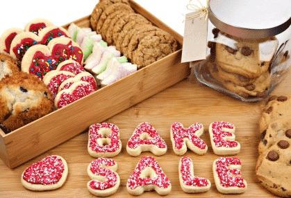 Having a bake sale is a fun way to make  money