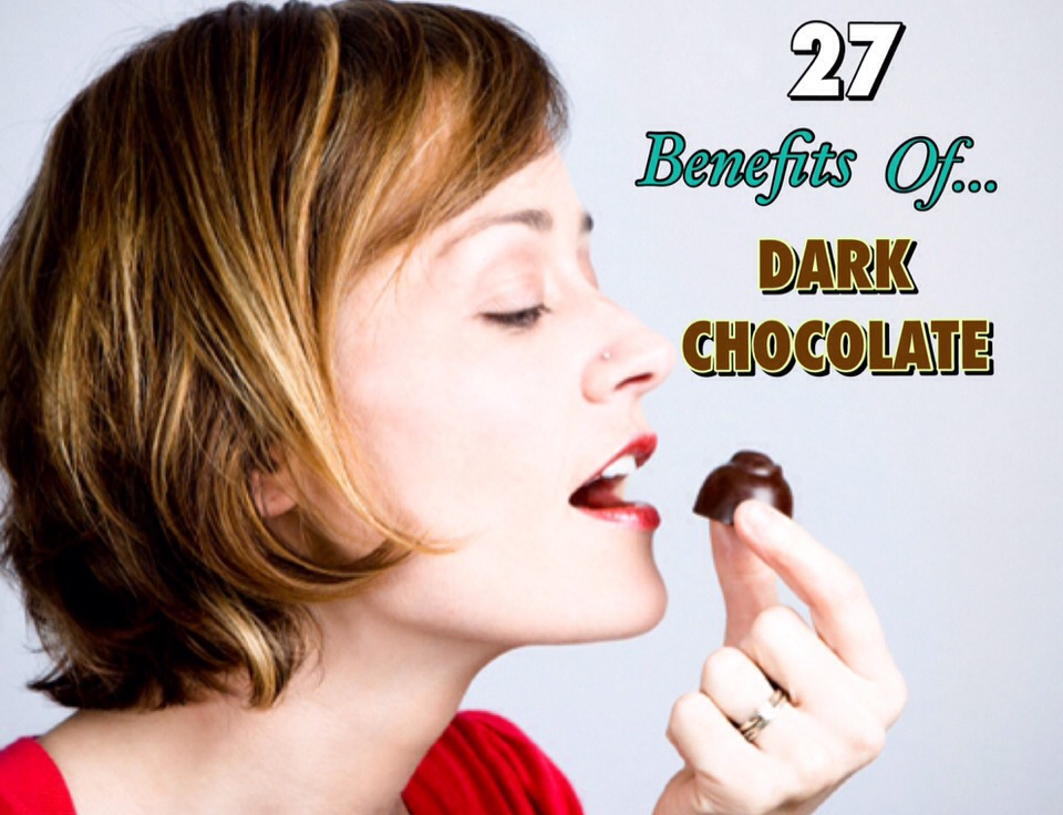 Want another excuse to dig into some chocolate?... Here are 25 scientifically proven health and beauty benefits of eating dark chocolate! From losing weight, to better skin, dark chocolate has it all!