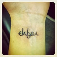 """""""EHFAR"""" Um, what? EHFAR. It actually stands for """"Everything happens for a reason"""". And yes, that's an awesome quote that we all have said at least five times in our lifetime already."""