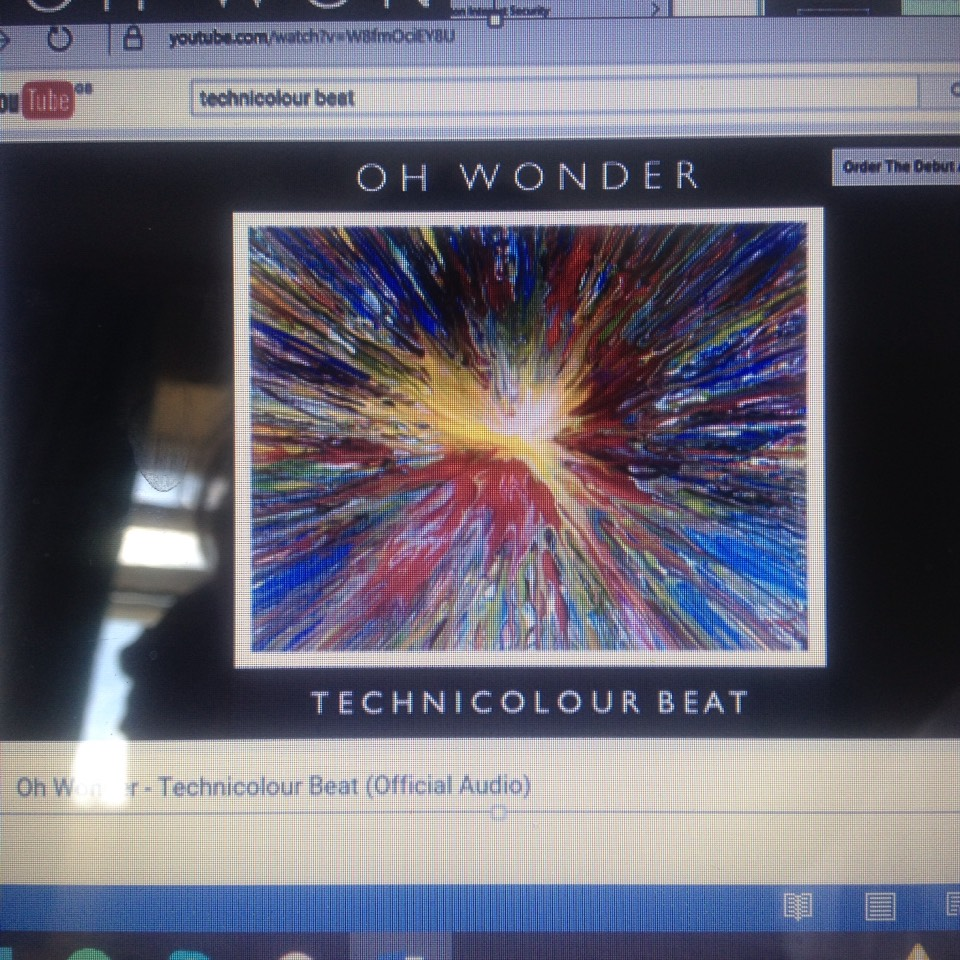 Head over to YouTube on your laptop/desktop and find an audio of your favourite song