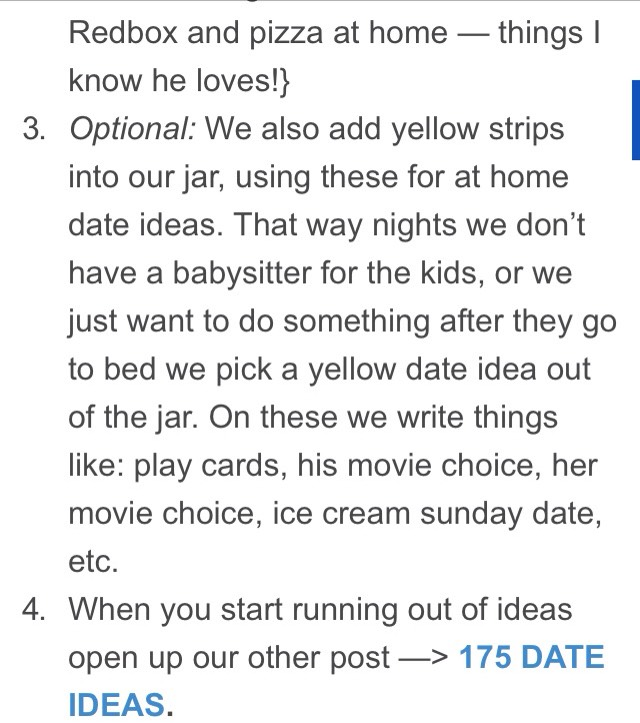 http://www.therealisticmama.com/175-fun-date-ideas/