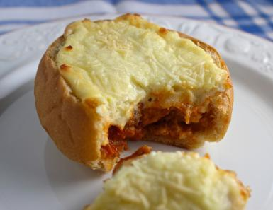 lasagna sandwitch ---> Prep Time: 20 minutes Cook Time: 20 minutes Total Time: 40 minutes Yield: 6 servings