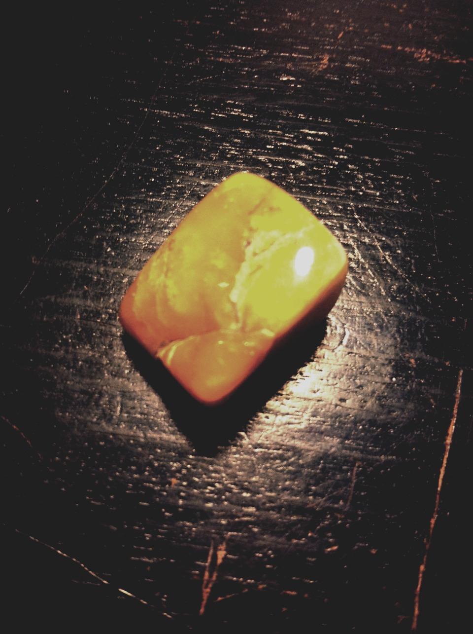 Orange Calcite- Blances emotions.