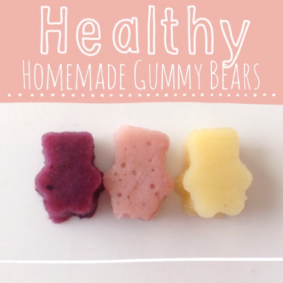 """Recipe  Two cups of fruit One cup of fruit juice (I used my juicer, but you can use any kind of fruit juice, it just depends on how """"natural"""" you want your gummies to be) Three packets of Stevia in the Raw Five packets of regular unflavored gelatin"""