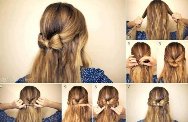 This hairstyle works well with fall fashions!