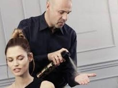 20. Before attempting a sleek updo, spray your hands with hairspray and run them through your hair.