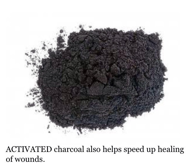 Detoxifying Charcoal Mask/Scrub * Take 1 tsp of activated charcoal and combine it with 1 tsp of water, rosewater, or coconut oil [recommended] * Mix together to make a paste * Massage onto your face and let it sit for a minimum of 10 minutes * Rinse with warm water   Voila!