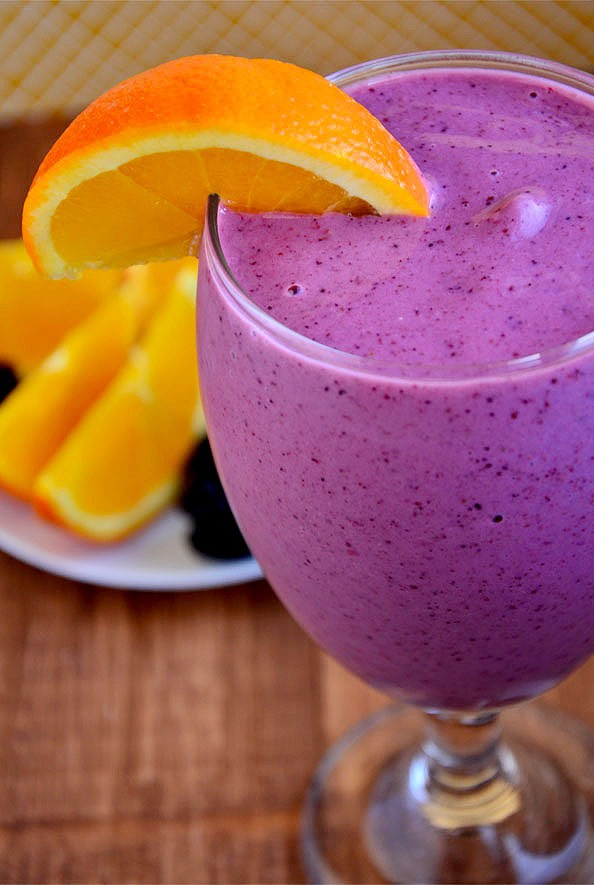 Make Your Skin Glow and Smoother Smoothie:  -2 pints pineapple  -2 pints watermelon  -2 quarts coconut water  -spinach -Blueberries